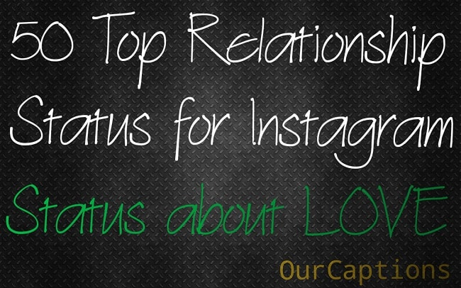 Relationship Status for Instagram | Status For Love | Pictures