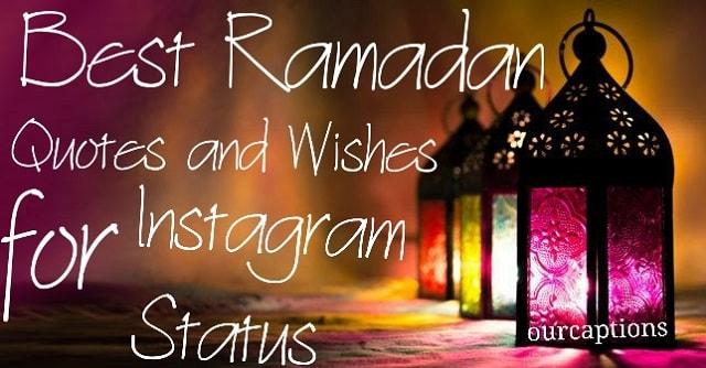 Ramadan Status For Instagram