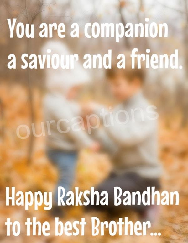 raksha Bandhan Captions for Instagram