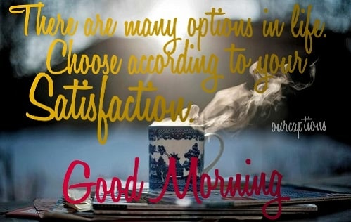Good morning Inspirational thoughts