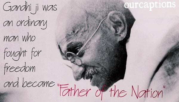 Mahatma Gandhi Jayanti Quotes & Wishes in English