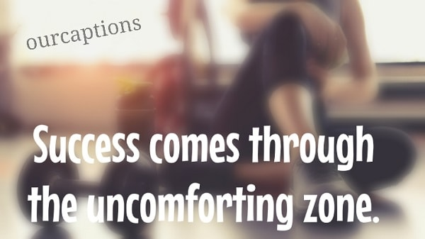 Instagram Captions for gym