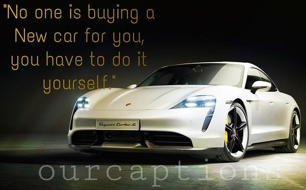 New car Captions