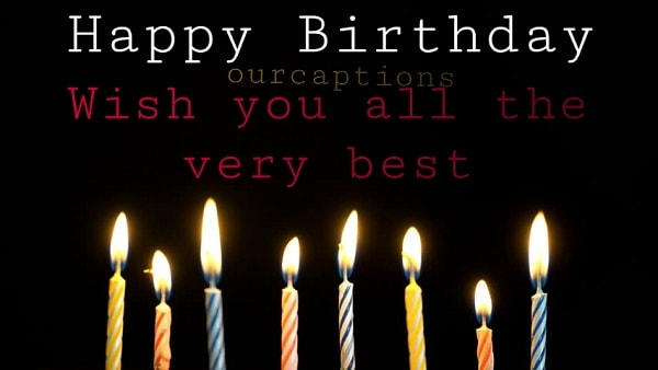 Happy Birthday Captions | Quotes with images in English