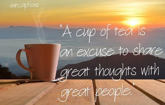inspirational morning tea messages