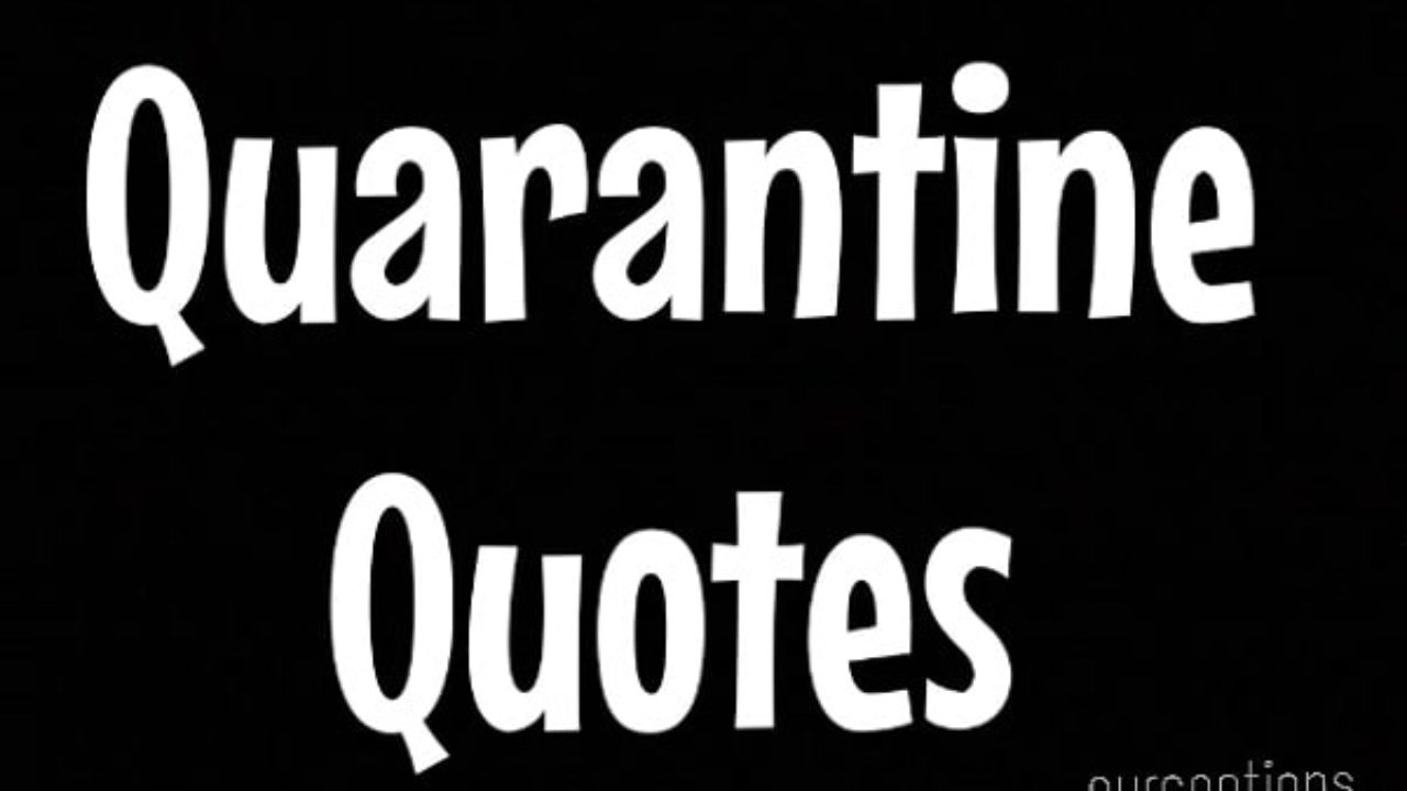 Top 50 Encouraging Quarantine Quotes Coronavirus