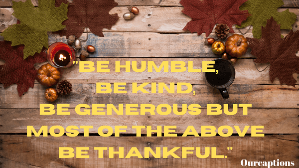 Thanks giving Quotes