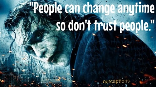 Joker Quotes and Captions
