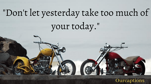 Bike Quotes for Instagram